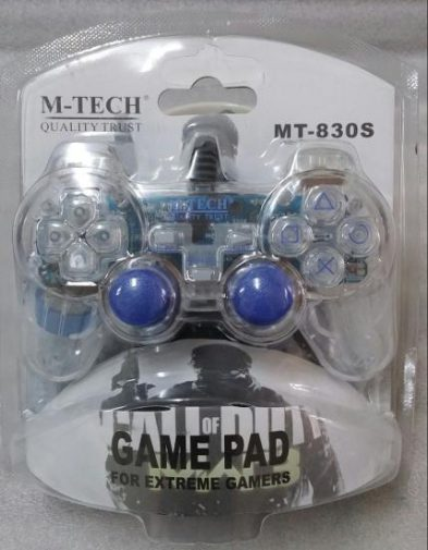 Gamepad Joystick USB Single Transparan