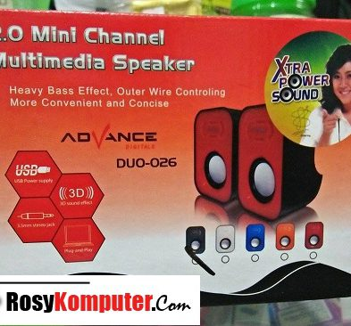 Speaker Aktif Advance Duo-026