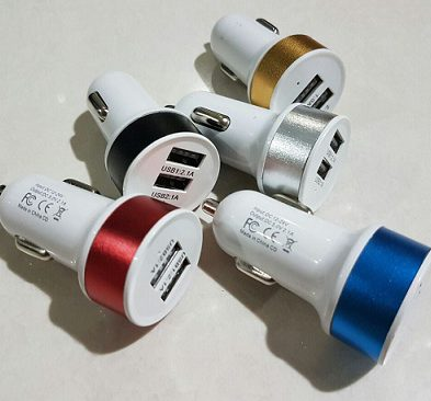 USB Charger Mobil 2 Slot