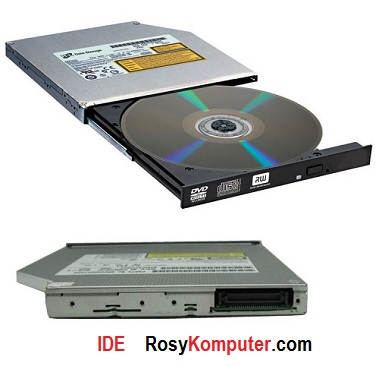 DVD-RW Laptop IDE Tebal 12,7mm