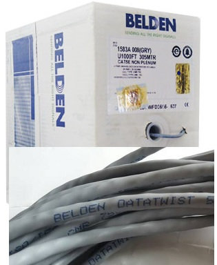 Kabel Lan Belden CAT5 (Per meter)