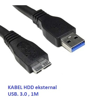 Kabel HDD Eksternal USB 3.0 1 Meter