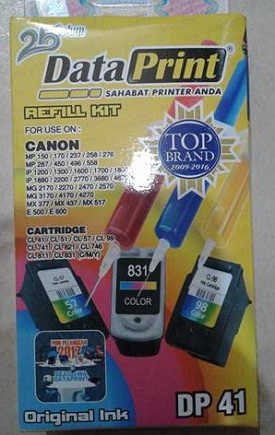 Tinta Data Print Canon Warna