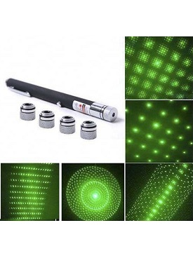 Green Laser Pointer Hijau 5 Mata