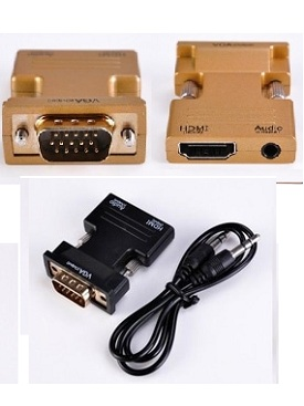 Adapter Converter HDMI – VGA+ Audio