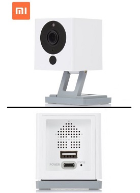 IP Camera CCTV Xiaomi Yi Xiaofang Smart Wifi