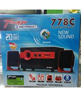 Speaker Bluetooth Multimedia Teckyo 778