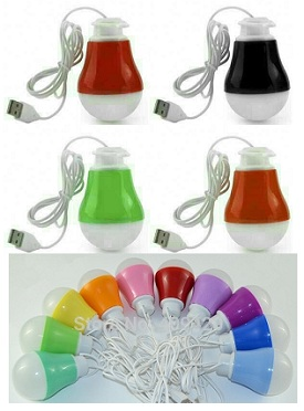 Lampu Led USB 5W Kabel 1m