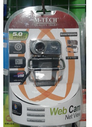 Webcame, Camera USB 5 Mp Mtech