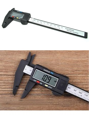 Jangka Sorong Digital Vernier Caliper Display LCD Screen