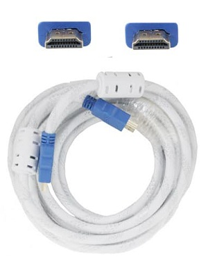 Kabel HDMI 5 Meter HQ White