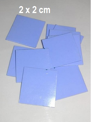 Thermal pad Blue 2 x 2 cm
