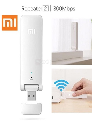 XIAOMI WiFi USB Amplifier 2 Repeater Range Extender Wireless Router 300Mb