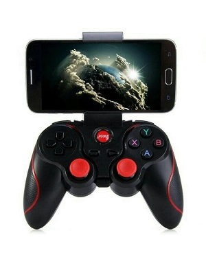 Gamepad Stick Wireless bluetooth + Holder hp Android ios