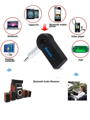 Bluetooth Audio Musik Reciever , Jack 3.5