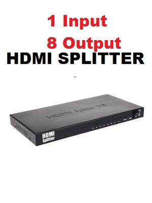 HDMI SPLITTER 1-8 Port Output 1080p full HD