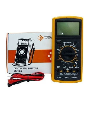 Cellkit Multimeter Digital Avometer 9205D