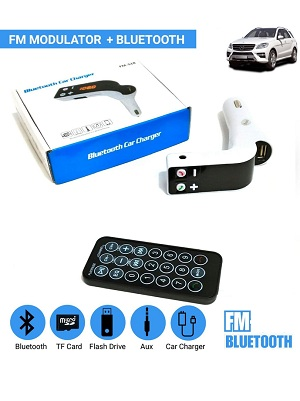 FM MODULATOR BLUETOOTH Remote