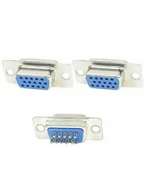 Connector DB15 VGA Female
