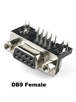 DB9 PCB FEMALE