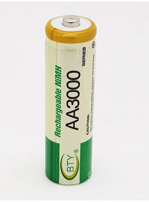 Baterai AA BTY rechargeable
