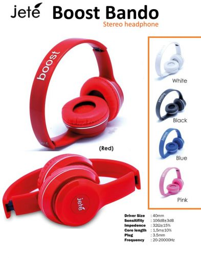 Headphone, Headset Jete Boost Bando