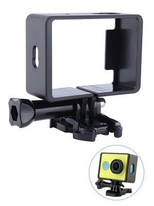 Frame Case Camera Xiaomi Yi, Plastic Protective Side