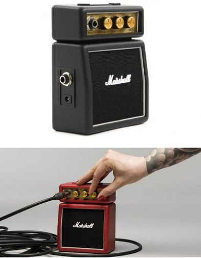 Speaker Amplifier Gitar Mini Marshall MS2