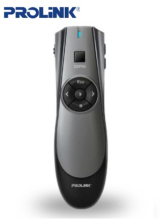 Wireless presenter with Air Mouse Prolink pwp102