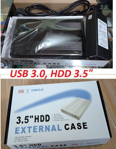 HDD Enclosure 3,5″ USB 3.0