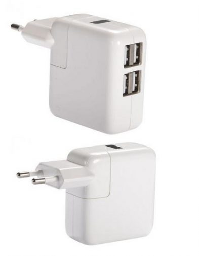 USB Charger 4 Port
