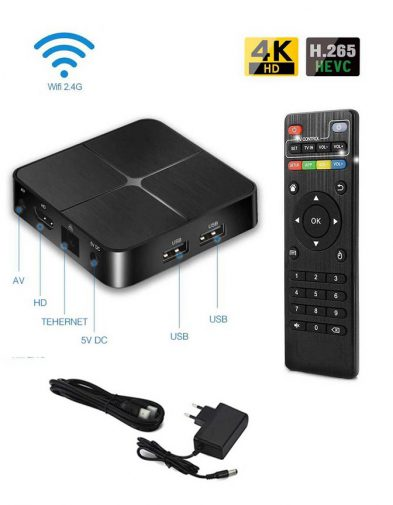 Android Smart TV Box 2GB 16GB 4K Wifi