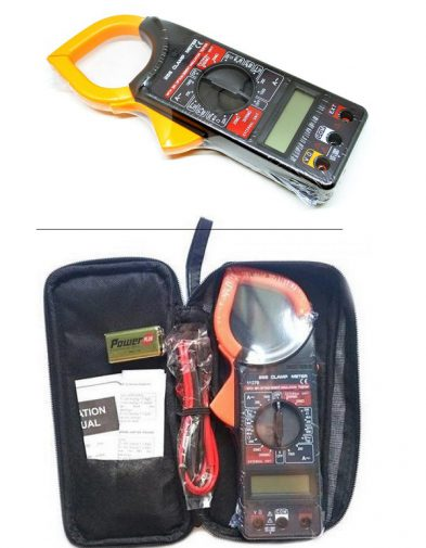Digital Clamp Meter Multimeter Tang Ampere