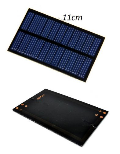 Panel Surya, Solar Cell Kecil 11 x 7 cm