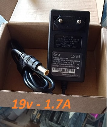 Adaptor Charger LCD LG 19v 1.7A