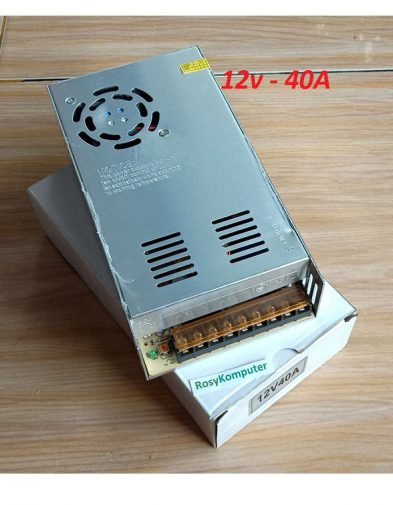 ADAPTOR POWER SUPPLY SWITCHING Trafo 12V 40A