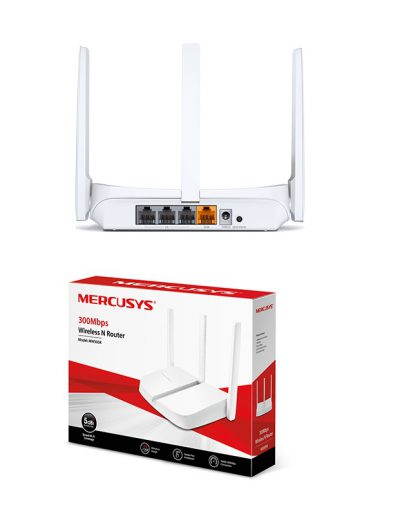 Mercusys MW305R 300Mbps Wireless N Router 3 Antena
