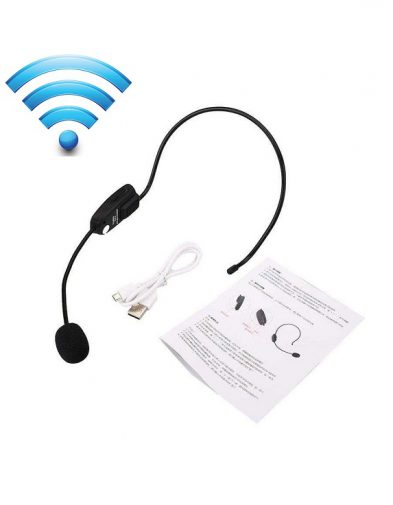 Microphone Wireless Bando / FM Radio
