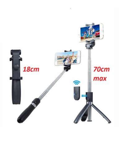 Tongsis Selfie Stick Tripod Mini 70cm