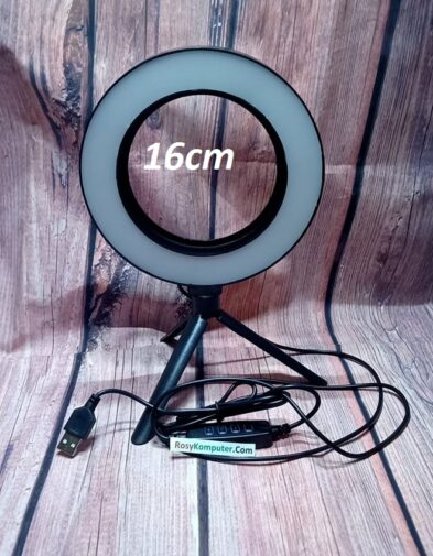 Lampu Ring Light 16 + Tripod Mini