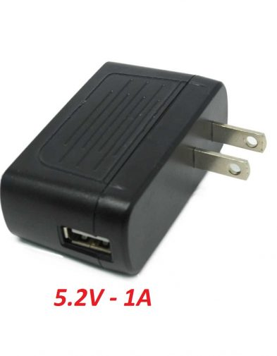 Adaptor Charger 5.2v – 1A USB