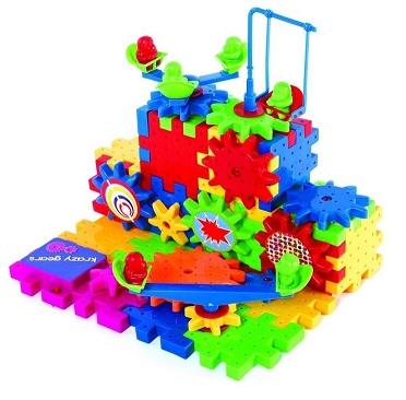 Mainan Edukatif – Krazy Gears Funny Bricks