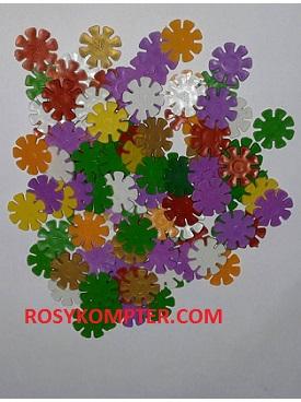 Mainan Edukatif Bombik Plastik  /  meronce 100biji