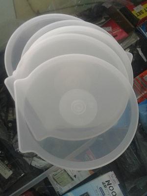 Bungkus DVD CD Plastik Bulat
