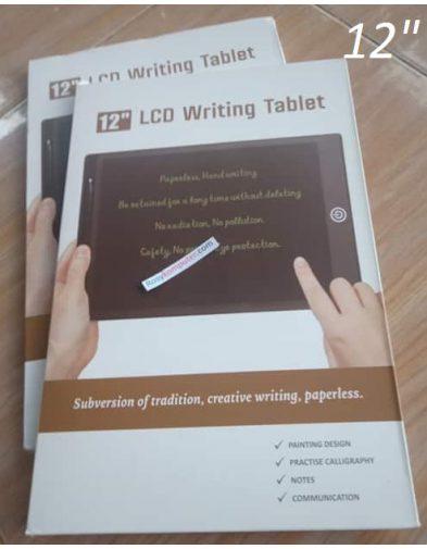 Digital LCD Writing Tablet 12″ Papan Tulis LED Drawing