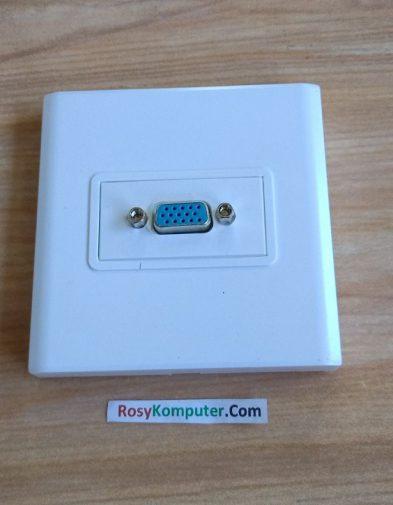 Faceplate Socket Colokan Port VGA dinding
