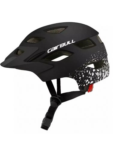 Helm Sepeda Cairbull Motif + lampu