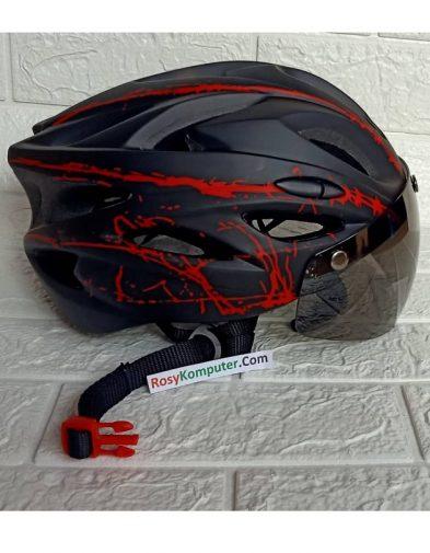 Helm sepeda Roadbike Kaca magnet