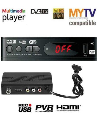 TV Box Digital Satellite Receiver 1080P DVB-T2