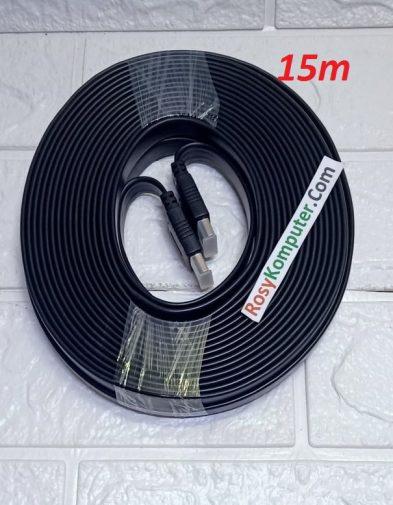 Kabel HDMI 15M Flat